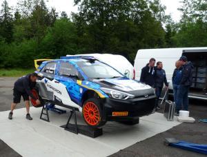 Essais privés WRC